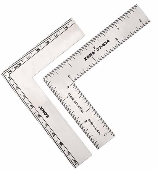 Náhľad produktu - Uholník nerezový ZONA 3×4″